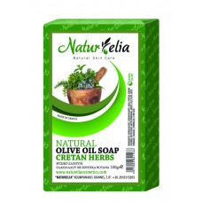 Olive Oil Face & Body Care Soap With Cretan Herbs 100gr