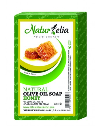Olive Oil Face & Body Care Soap With Honey 100gr