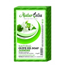 Olive Oil Face & Body Care Soap With Jasmine 100gr