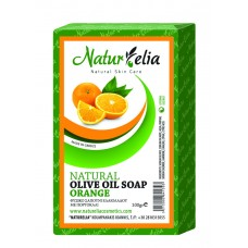 Olive Oil Face & Body Care Soap With Orange 100gr